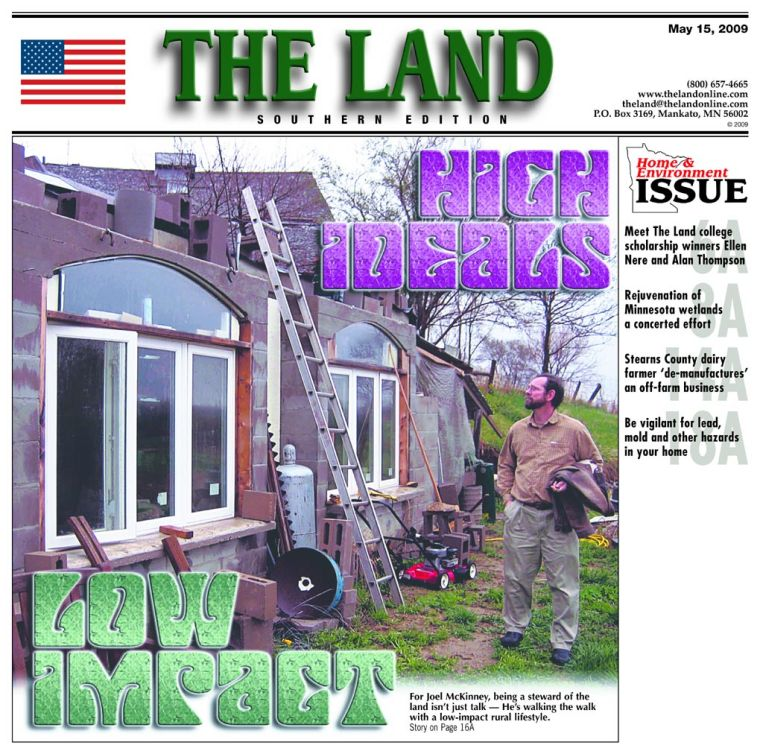 Cover story: Walnut Grove man living low-impact lifestyle