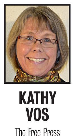 Kathy Vos column mug