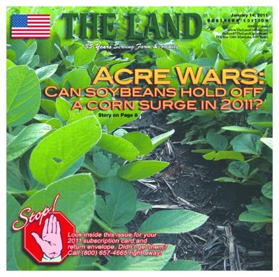 Cover story: Acre Wars — Can soybeans hold off a corn surge in 2011?