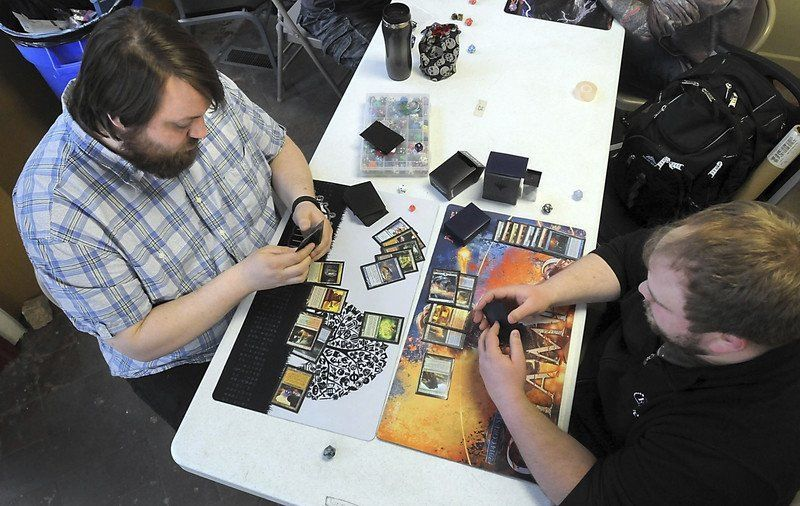 WHERE THE MAGIC HAPPENS Card game casts a spell causing fans to meet, compete and enjoy