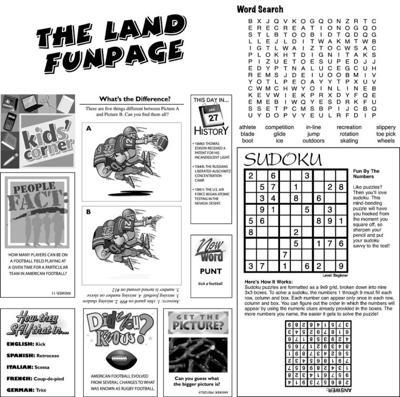 The Land Funpage: January 22/29, 2010