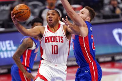 Rockets Pistons Basketball