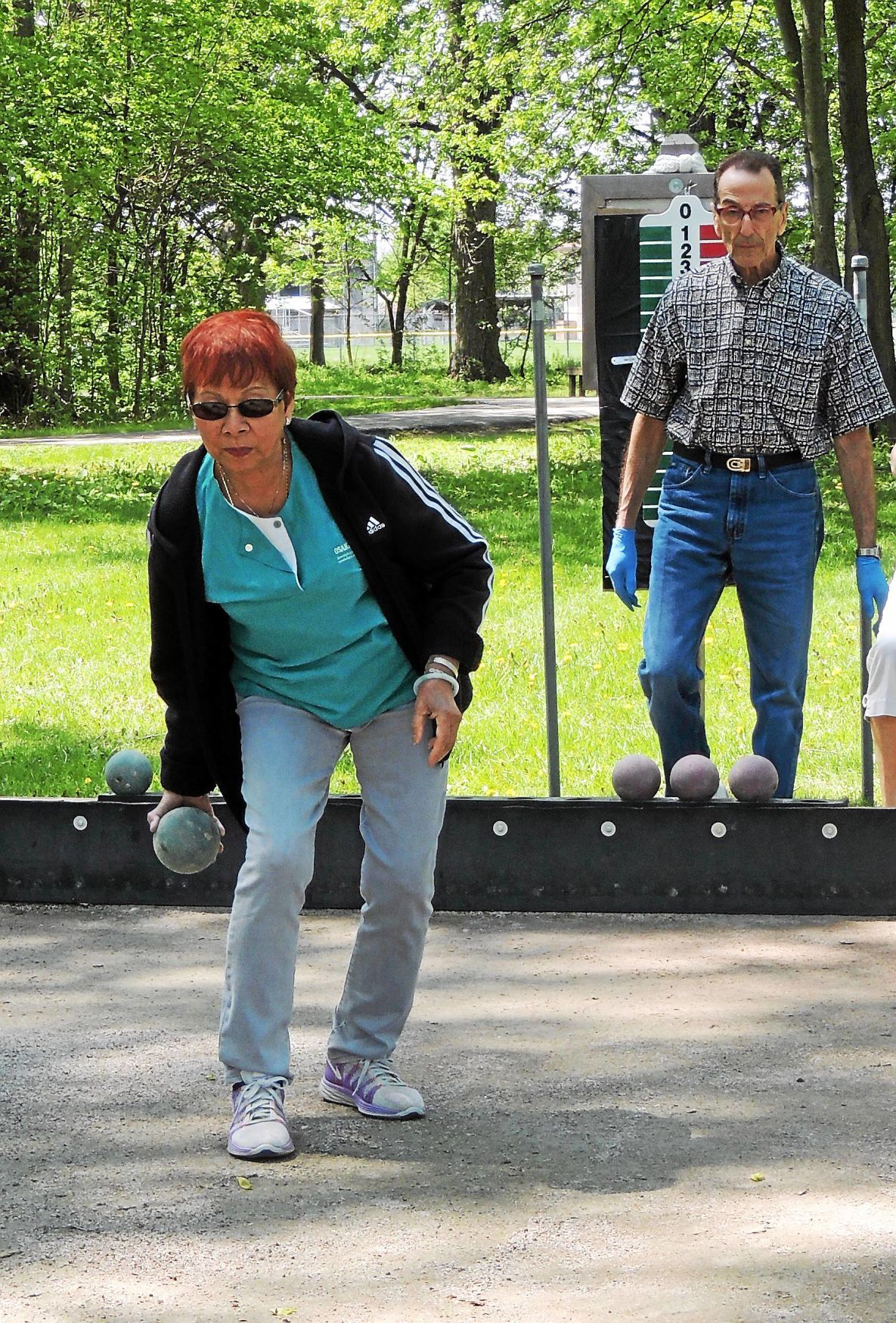 League bocce ball is serious business in Clinton Twp.