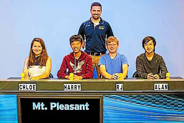 "Mt. Pleasant High School to Compete in ""Quiz Central"" Finals"