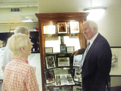 Museum welcomes Hockett in recognition of new display