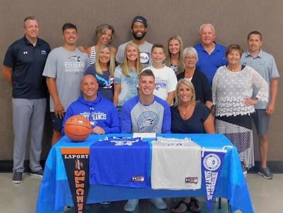 La Porte's Garrott Ott-Large officially signs with St. Francis