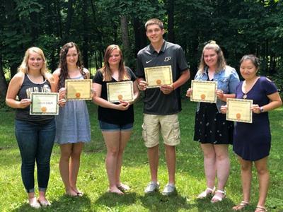 La Porte County Farm Bureau awards scholarships