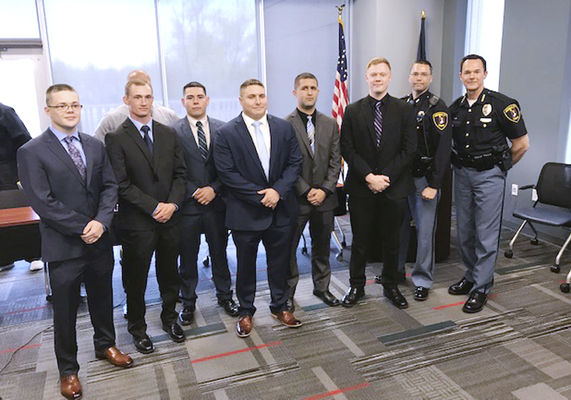New officers sworn in at MCPD