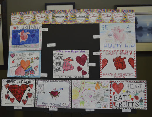 Kids show they 'have a heart'