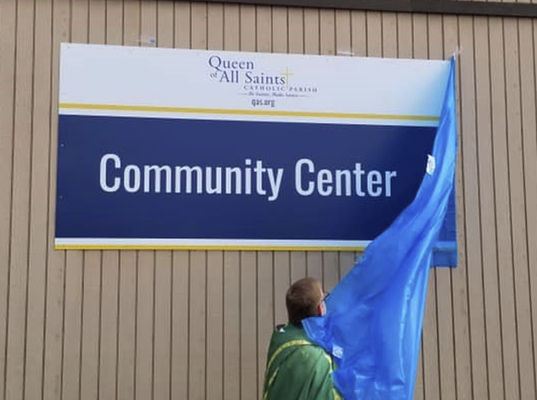 NEW COMMUNITY CENTER OPENS AT QAS