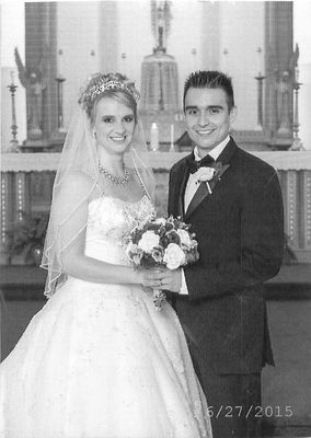 Mary-Frances Yackus and Andrew Sauseda