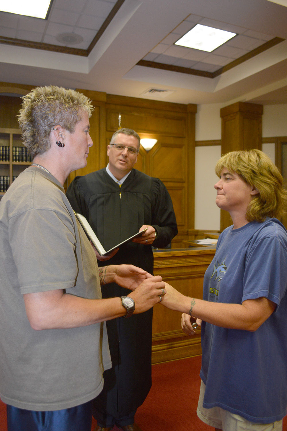 Top 14 gay marriage flip flops between banned allowed in for La porte municipal court