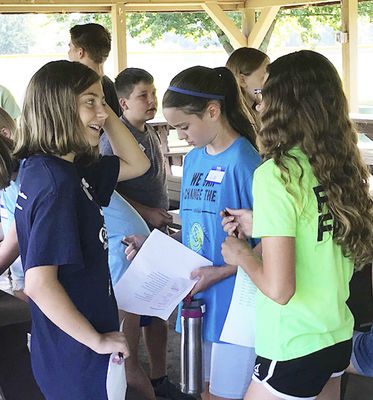 Area middle schoolers complete Summer Leadership Camp