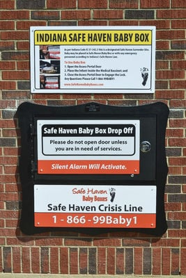 Newborn left at Safe Haven box in Hammond