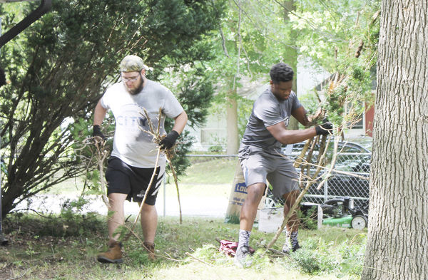 Making a difference one yard at a time