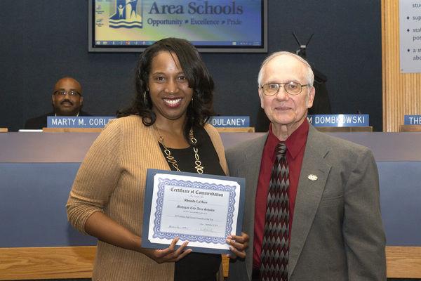 School board recognizes 'rock star' educators