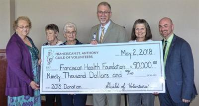 GUILD OF VOLUNTEERS DONATES $90K TO HOSPITAL