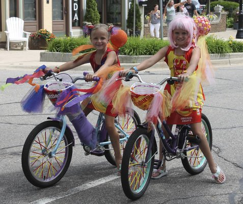 MCPD HOSTS SWEET PARADE