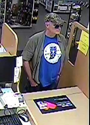 $5K reward for CVS robber