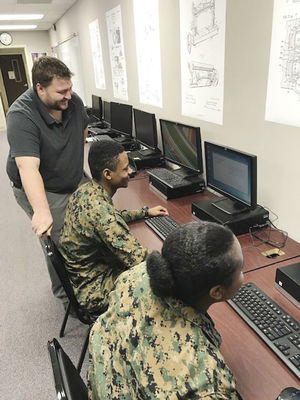 ROTC students compete in STEM competition