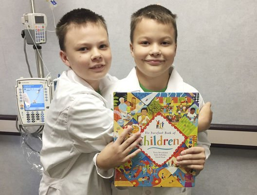 Local boy finds the good in giving back to others at La Porte Hospital