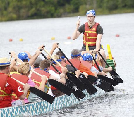 Dragon boats to hit lake on Saturday