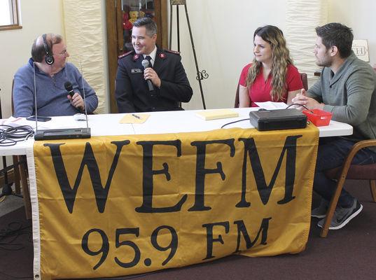 Radiothon held for MC Salvation Army