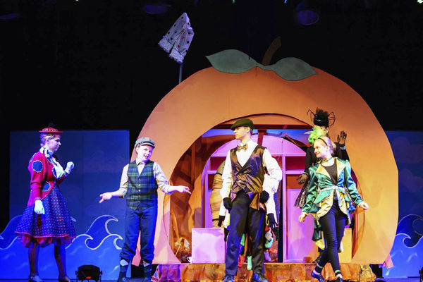 Giant adventure, giant performances and one giant peach