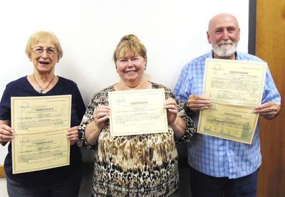 Genealogical Society presents awards