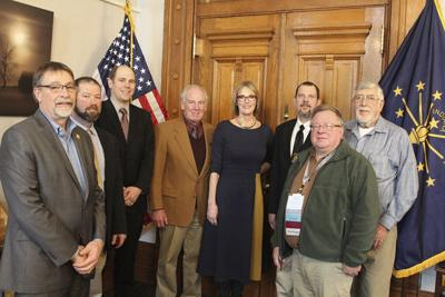 Pressel, LP County Farm Bureau meet with Lt. Gov.