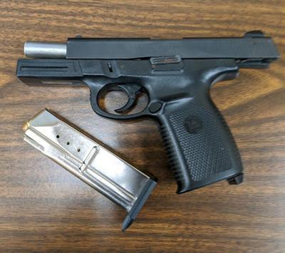 GUN POINTED IN ROAD RAGE INCIDENT