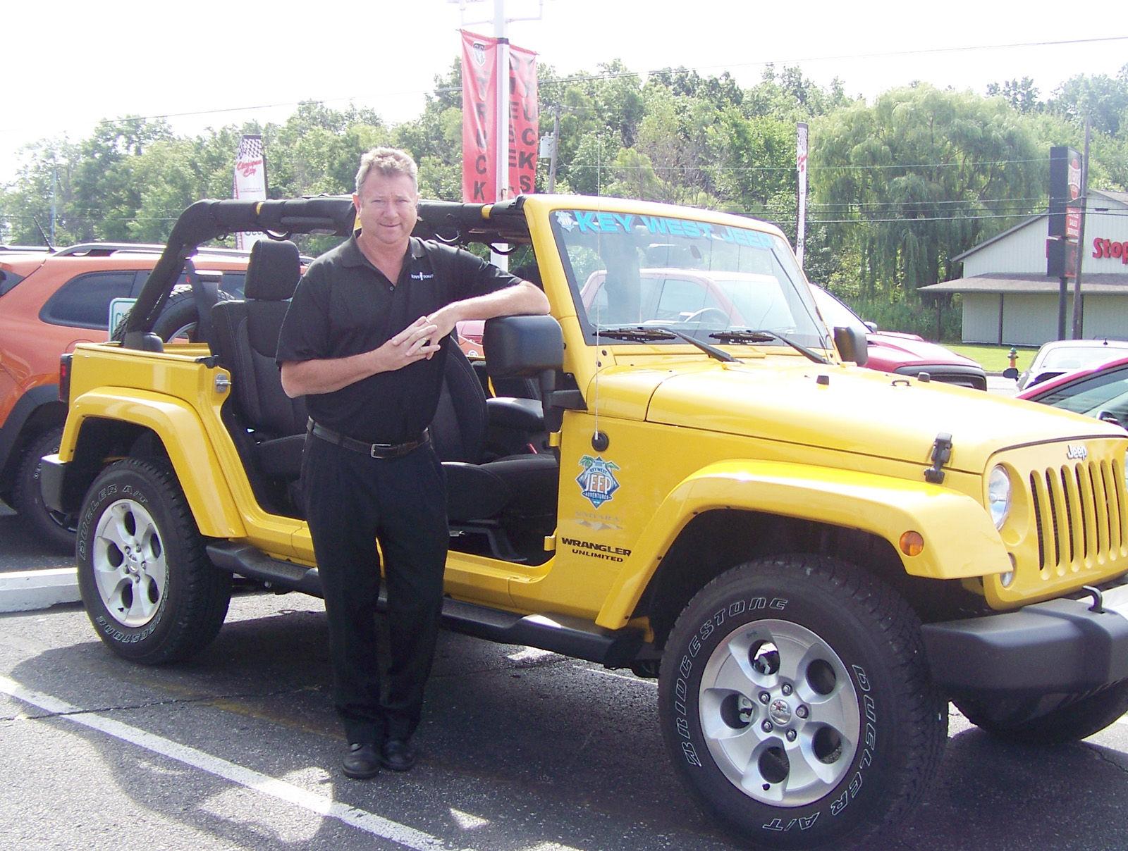 Lovely Jeep. Tom Crane, Owner Of Michigan City Chrysler Dodge ...