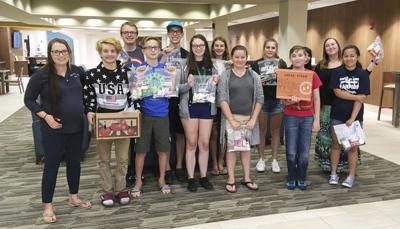 Teens donate blessing bags to homeless   Features   thenewsdispatch com