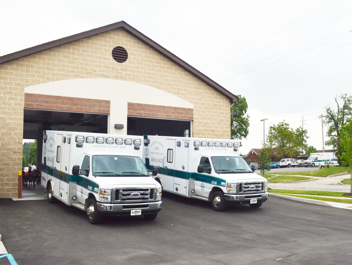 New digs for la porte county ems news for Laporte county building department