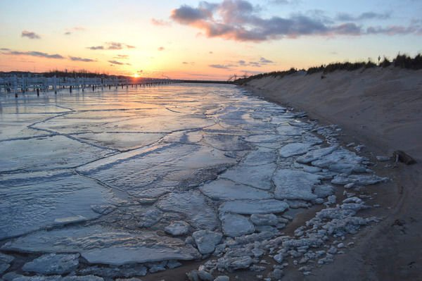 Ice-free lake not a welcome sight