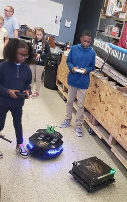 Building robots leads to building careers