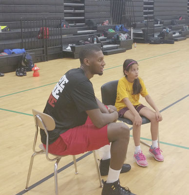 Gorch on the Porch: Jones' basketball camp at MCHS