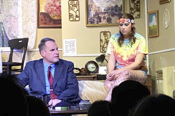 Footlight's comedy is 'red hot'