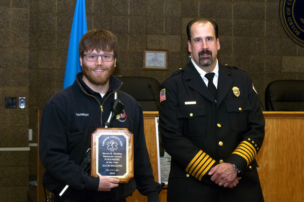 EMTs, paramedics '100 percent in'