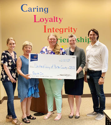 Northern Indiana Bank On Alliance and Centier Bank support the working poor