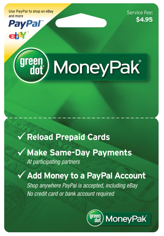 green dot moneypak cards are legitimate products when used for the right purposes scammers like them because they are more convenient than wiring money - Reload Prepaid Card With Checking Account