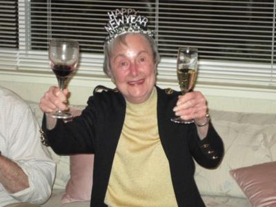 Lucille Bacon with champagne.jpg