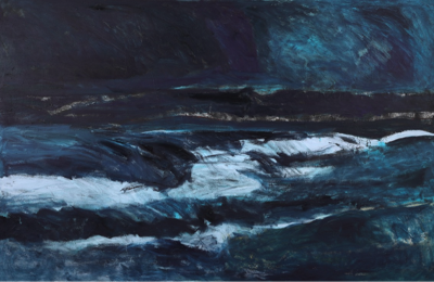 "Sandra Roumagoux ""Rising Tide"" 48"" x 73 ½""  oil on canvas.png"