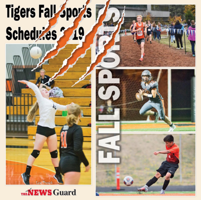 2019 Tigers Fall Sports Schedules