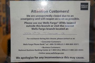 Wells Fargo robbed at gunpoint   News   thenewsguard com