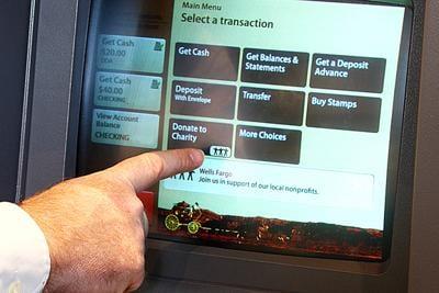 Wells Fargo adds ATM donatiion program   News   thenewsguard com