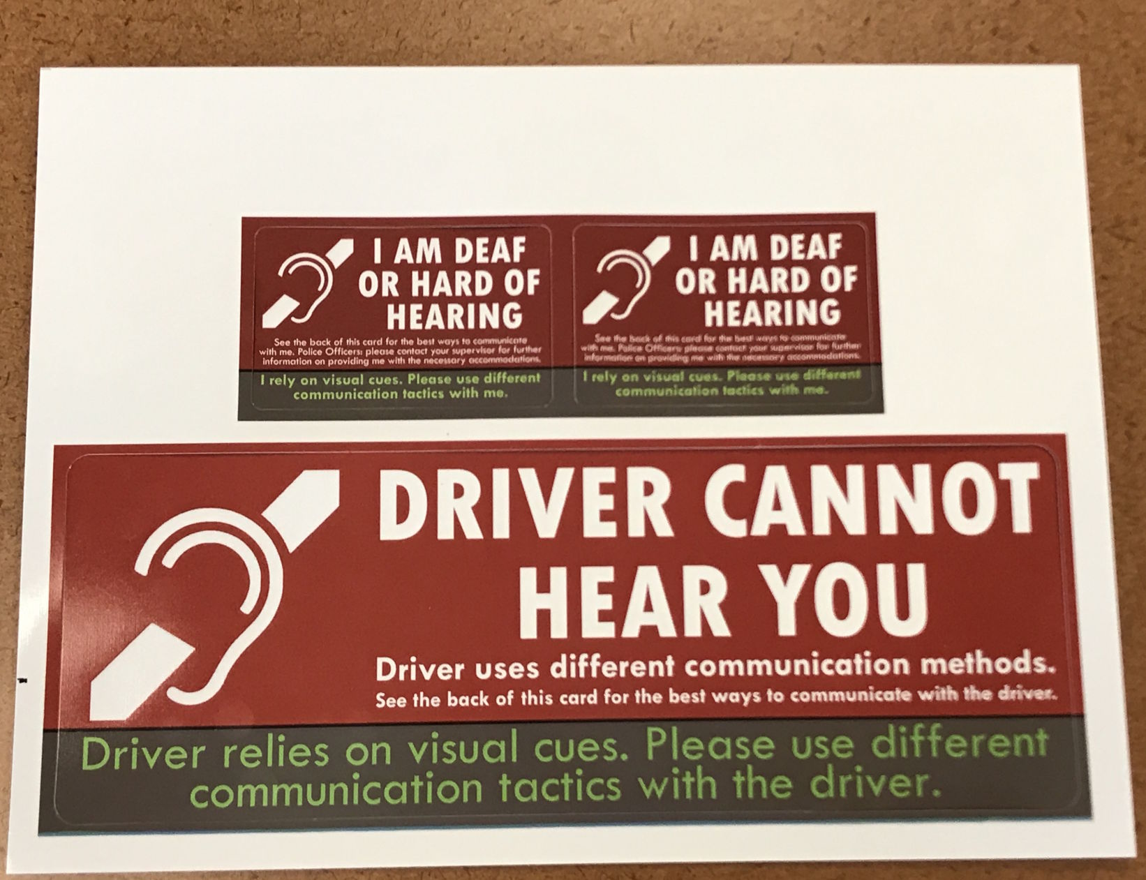 hearing impaired help