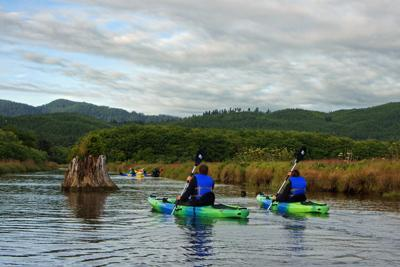 Siletz Bay Kayakers by Radford Bean.jpg
