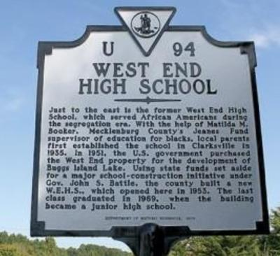 A Brief History of West End High School 1935-1969