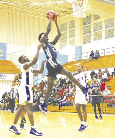 Bluestone boys lose to Person County in Holiday Tournament opener
